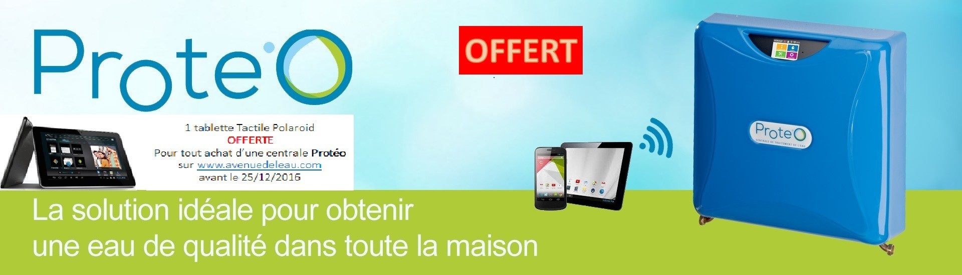 Offre tablette tactile offerte