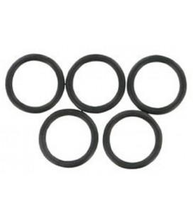 5 Joints toriques. N° 12 ( 15,1 x 20,5 x 2,7 )