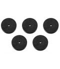 5 Clapets percés. ( 4 X 16 X 6 )