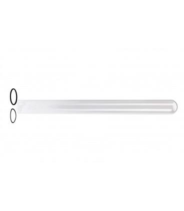 Tube quartz et joints pour lampes Uvc 36, 55 et 95 W